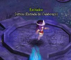 Imagem do NPC Sutton, Entrada do Calabouço para completar a quest do Cofre do Fantasma